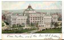 Undated Used Postcard US Congressional Library Washington DC