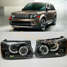 Left & Right LED Headlights Assembly For Land Rover Range Rover Sport 2010-2013