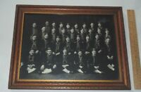 1917 SHRINERS Framed PHOTOGRAPH - Bagdad - signed The Gibson 1917 - 100 yrs old