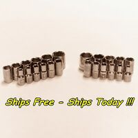 Craftsman 23pc 1/4 Drive 6pt STD SAE Metric MM Laser Etch Easy Read Socket Set