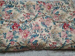 RALPH LAUREN Tangier Floral jute trim  King Comforter