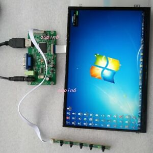 "EDP HDMI VGA LCD Controller board Kit with 1920X1200 IPS 10.1"" Screen LED panel"