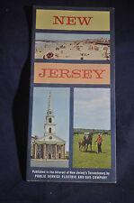 1964 *MINT* New Jersey Map for New Jersey Tercentenary