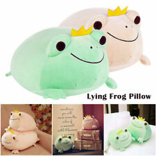 Cute Stuffed Animal Frog Plush Toy Stretchy Soft Throw Pillow Adults Kids Gifts