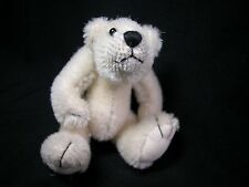 "World of Miniature Bears 3.5"" Mohair Bear Klonnie #1153 Collectible Bear"