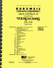 Kurzweil Mark 10 150 OWNER'S MANUAL