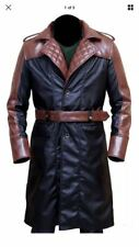 Assassins Creed Syndicate JACOB Frye Michael fasbender Trench in pelle marrone