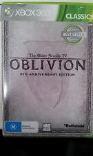 The Elder Scrolls IV 4 Oblivion 5TH Anniversary Edition xbox 360 PAL Version
