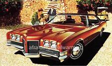 Old Print.  1971 Pontiac Catalina Brougham 4-Door Hardtop