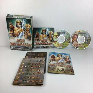 Age of Mythology - PCMicrosoft Software COMPLETE EUC FREE SHIP