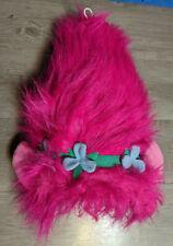 Toy Factory 2017 Trolls Plush Poppy Plush Wig Hat Costume Headwear Halloween