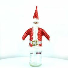 Pack of 3 Christmas Bottle Cover Gentleman Christmas Party Decoration