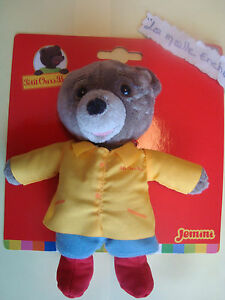 Petit Bear Brown Blouse Yellow 17 CM JEMINI New Plush Teddy