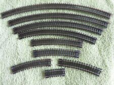 """PECO N GAUGE SETRACK - JOB LOT OF NINE NEW CURVED SECTIONS"