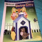 The Needlecraft Shop Plastic Canvas Curios Kitty Tissue Box Cover - Debbie Tabor