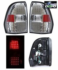 COACHMEN PATHFINDER 2009 2010 PAIR CHROME LED TAIL LAMPS TAILLIGHTS RV - SET