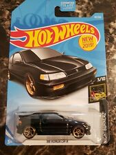 Hot Wheels '88 Honda CR-X Black Nightburnerz 3/10