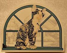 Cat's Meow Village Purebred Cats: Devon Rex Cat