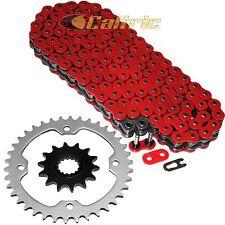 Red O-Ring Drive Chain & Sprockets Kit Fits YAMAHA YFZ450R YFZ450X 2009-2016