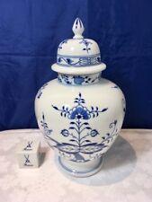 Meissen Zwiebelmuster Vase with Lid 51083/800101 Cipolla Blu Vaso NEW