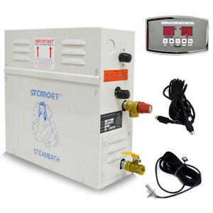 6KW Steam Generator for Home SPA Sauna Bath Shower + St-135M Controller in UK EU