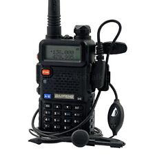 BaoFeng UV-5R 5W Walkie Talkies VHF UHF Dual Band FM Two-way Radios Transceiver