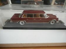 Vitesse 1965 Mercedes 600 Pullman Limousine in Red on 1:43 in Box