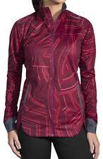 Brooks Drift Shell Womens Running Jacket - Purple