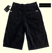 NWT SEAN JOHN Boys Pale Black Cargo Shorts(Size 12, 14) MSRP$39.00 NEW