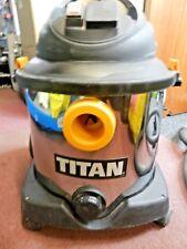 TITAN TTB430VAC 1400W 30LTR WET & DRY VACUUM CLEANER 240V