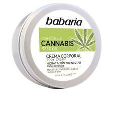 Babaria CANNABIS crema corporal hidratante y bienestar 200ml Unisex