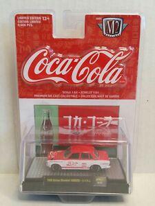 M2 Machines Coca-Cola Japan 1969 Datsun Bluebird 1600SSS Red White