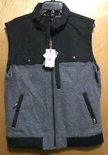 Woolrich Wilderness Vest Black Gray NEW NWT Size L MSRP $139
