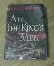 ALL THE KING'S MEN by Robert Penn Warren - 1st/3rd Harcourt - HCDJ 1946 - VG+