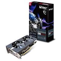 Sapphire AMD Radeon RX 580 Nitro+ OC 4GB Grafikkarte 2xHDMI/2xDP/DVI-D