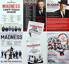 7 X MADNESS SUGGS LIFE STORY OUR HOUSE MUSICAL FLYERS - 2016 CAN'T TOUCH US NOW