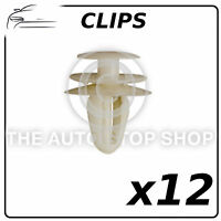 Clips Bodyside Trim Clips 8 MM  To Fit Nissan Qashqai 12 Pack Part Number: 12592