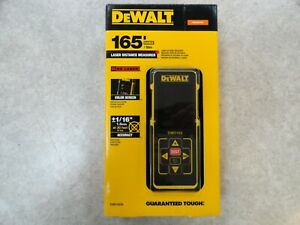 BRAND NEW Dewalt DW0165N 165 ft. Red Laser Distance Measurer With Color Screen