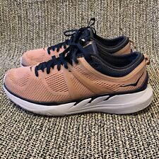 Hoka One One Tivra Navy/Peach Women's Athletic Running Shoes Size 9 (813475)