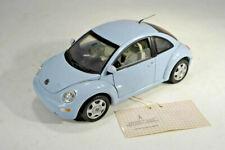 Franklin Mint Modellauto 1:24 - New Beetle- limited Edition Vapor - blau