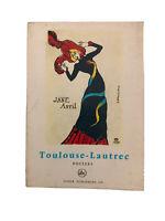 Tudor Publishing Toulouse-Lautrec Antique Published 1965.
