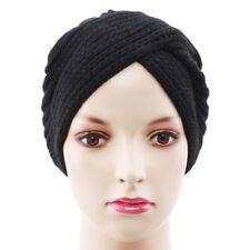 Winter Hats For Women Fashion Hat Beanie Scarf Wool Knitted Head Wrap Cap OO