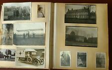 Wwi New Zealand Expeditionary Forces 182 Photos + Misc Nurses Airplane