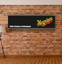 Meguiars Vinyl Banner Sign Garage Adversting Flag Poster Workshop Auto Cosmetics