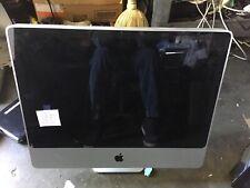 "Apple iMac A1225 24"" Core 2 Duo 2.40GHz 4GB RAM 500GB HD Apple Keyboard Mouse"