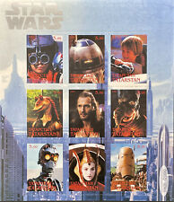 Star Wars Stamps 1999 Mnh Sci-Fi Science Fiction (Russia Local Private Issue) 2