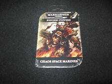 Warhammer 40K Chaos Space Marines Psychic Powers Cards