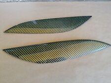 Carbon Fiber/ kevlar hybrid Eyelids Honda Civic 2/4Dr. 01-03 Yellow