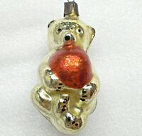 Antiker Russen Christbaumschmuck Glas Weihnachtsschmuck Ornament Bear Cub