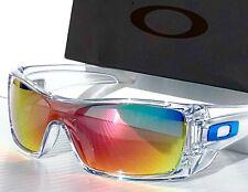 NEW* Oakley BATWOLF CLEAR w POLARIZED Galaxy RUBY 2 lens set Sunglass 9101